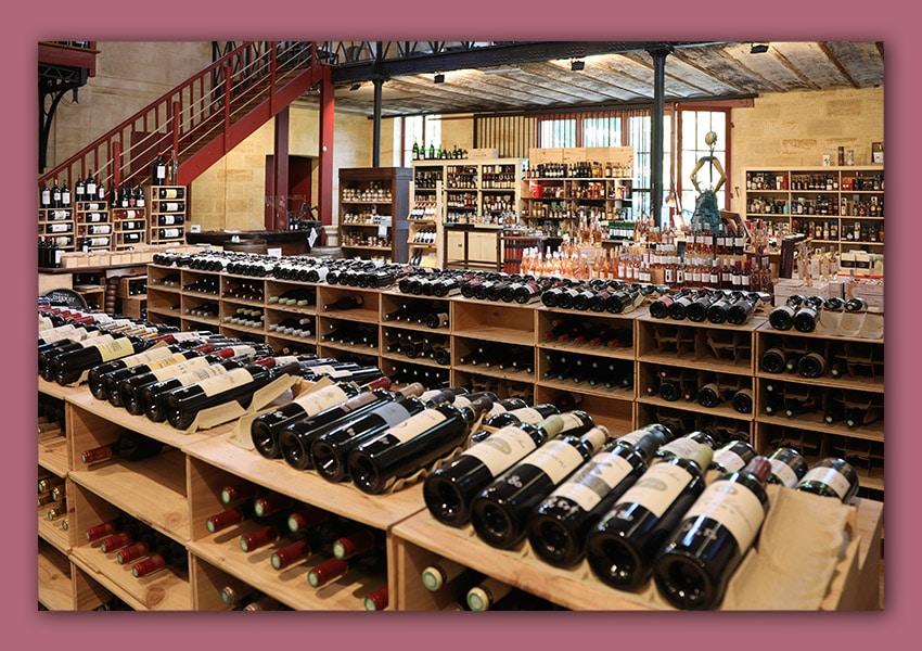 spiritueux et vins l'esprit des vins léognan caviste image de l'intérieur