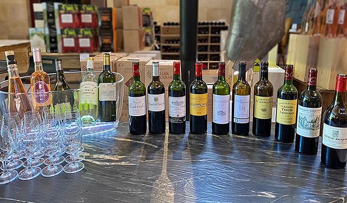 Nouvelles et actualités de l'esprit des vins Léognan dégustation permanente