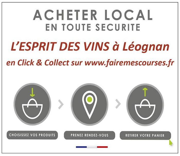 Nouvelles et actualités de l'esprit des vins Léognan boutique en ligne click&collect