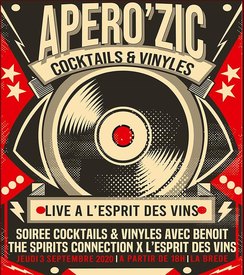 News de l'esprit des vins La Brède apérozic aout 2020